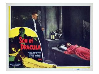 Son of Dracula, Lon Chaney Jr., Louise Allbritton, 1943 Premium Poster