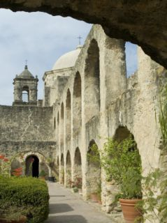Mission San Jose, San Antonio, Texas, USA Photographic Print by Ethel Davies