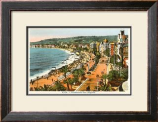 English Promenade, Nice, France Pre made Frame