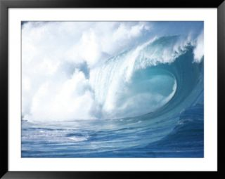 Big Waves on the North Shore of Oahu, HI Pre made Frame