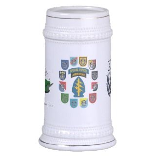Special Forces Association Beer Stein Mug