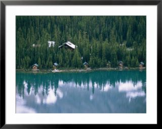 Lake OHara Lodge and cabins on the shore of Lake OHara Pre made Frame