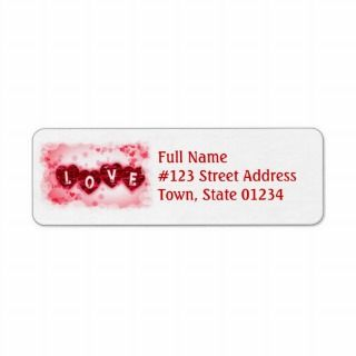 Love Letters Mailing Label