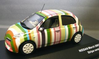 Nissan Micra (March) 2007   Stripe Version / Streifen