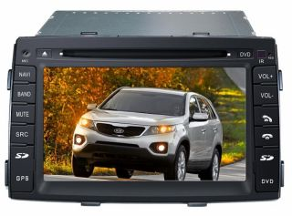 KIA Sorento 2010 Touchscreen Autoradio Navigation GPS DVD  USB DVBT