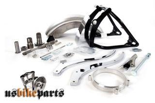 Breitreifen Umbau Kit Softail Schwinge Harley Davidson EVO Twin Cam