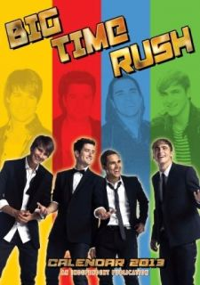 Big Time Rush 2013 Kalender