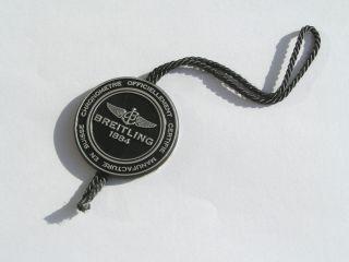 Breitling Badge Siegel schwarz black Button Etikett Preisschild