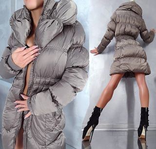 NEWNESS DAMEN NEU WINTER 2013 WARM SEXY FASHION LUXUS TOP MANTEL COAT