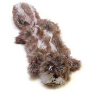 Plush Puppies Squeaker Mat Long Body Squirrel Dog Toy   Toys   Dog