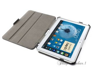 Samsung Galaxy Note 10.1 N8000 Leder Tasche Smart Cover Case