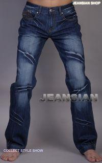 3mu Mens Designer Jeans Herren Hose Clubwear Stylish Neu W28 30 32 34