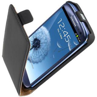 Premium Leder Flip Style Case f Samsung Galaxy S3 i9300 Etui Tasche