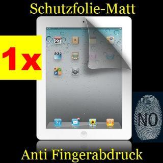 Neu 1 x Apple iPad 1.Generation Schutzfolie Matt Display Folie
