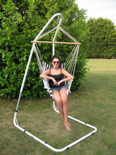 Ultracamp Onyx Swing Seat, Hanging Chair & Stand/Frame