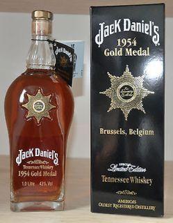 Jack Daniels Daniel´s 1954 Gold Medal Bottle 1 L 43% Rarität