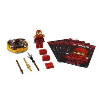 LEGO NINJAGO KAI ZX SPINNER CARDS AND MINIFIGURE 21PS 9561