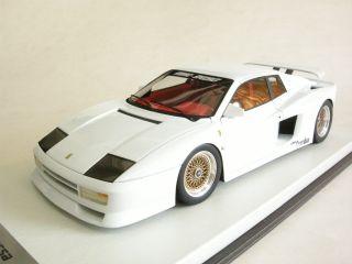 18 APM Ferrari Testarossa Koenig Specials 1985 White Resin