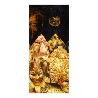Venetian Carnival Masks   Venice, Italy Custom Rack Cards