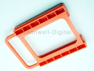 PC 2.5 HDD SSD TO 3.5 Mounting Adapter Bracket Dock For SSD Holder
