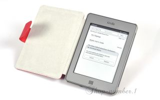 für  Kindle Touch & 3G Tasche Etui Cover Case 6 Rot★