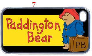 Paddington Bear Fans iphone 4 & 4s Hard Case Assorted Style