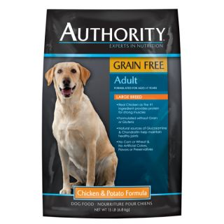 Authority� Adult Large Breed Chicken & Potato Formula Dog Food   Dry Food   Food