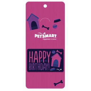 Happy Birthday Gift Card   Pink