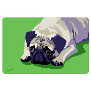 Bungalow Printed Pug Pet Mat   Dog   Boutique