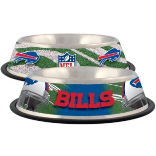 Buffalo Bills Stainless Steel Pet Bowl   Team Shop   Dog