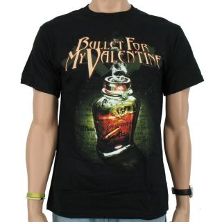 Bullet for my Valentine   Poison Band T Shirt, black