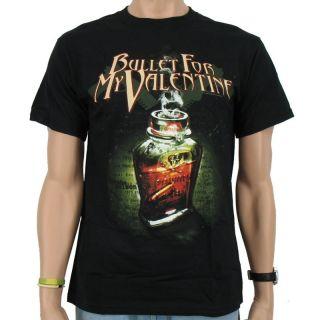 Bullet for my Valentine   Poison Band T Shirt, black