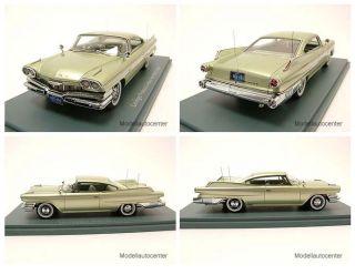 Dodge Polara Hardtop Coupe 1960 grün metallic, Modellauto 143 / Neo
