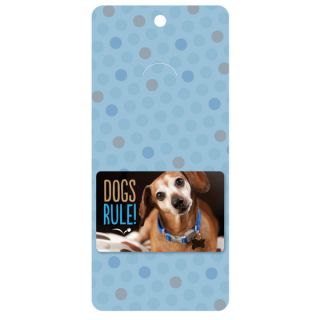 Dogs Rule Gift Card   Gifts for Dog Lovers   Dog