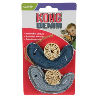 KONG� for Cats Denim Snail Toy   Plush Toys   Toys