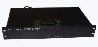 16CH 13A DC12V Rack Mount Style CCTV Power Supply UL Approved for CCTV