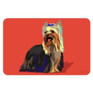Bungalow Printed Yorkie Pet Mat   Dog   Boutique