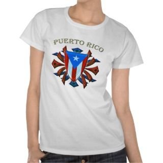 Puerto Rico   Shield Shirt