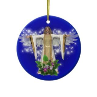 Guardian Angel Watch Over You Ornament