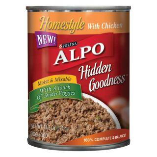 Alpo Homestyle Hidden Goodness w/ Chicken Canned Food   Food   Dog