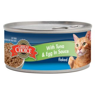 Grreat Choice� Tuna & Egg Cat Food   Sale   Cat