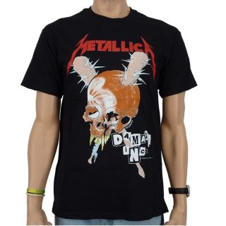 Metallica   Damage Inc Band T Shirt, schwarz