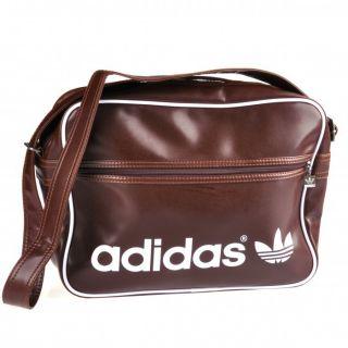 adidas AC Airline Bag Tasche Umhängetasche V86398 braun