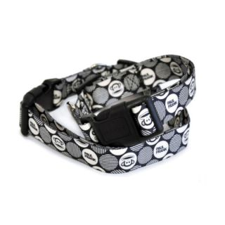 26 Bars & a Band Paul Frank Julius Mod Dots Dog Collar   Collars   Collars, Harnesses & Leashes