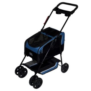 Pet Gear Travel System Stroller II Blue   Strollers   Crates & Carriers