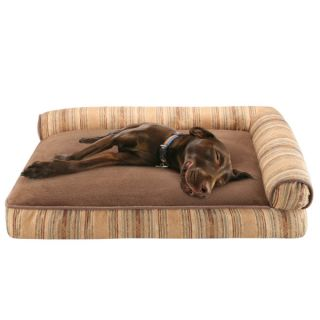 Soft Touch Right Angle Bolster Lounger   Beds   Dog