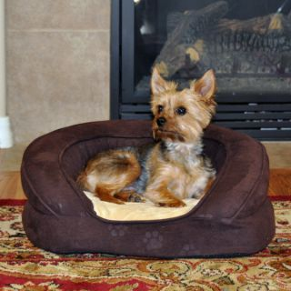 K&H Pet Products Deluxe Ortho Bolster Sleeper   Purple