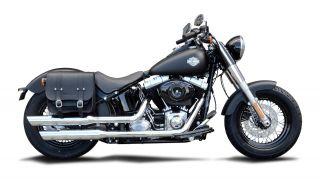 Packtasche Halterung Harley Davidson Street Bob Wide Glide Befestigung