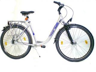 28 City Fahrrad Alu 7 Gang Nabe Kardanantrieb gefedert