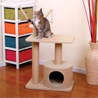 PetPals Eco Friendly Cat Condo with Teasers   Cat   Boutique